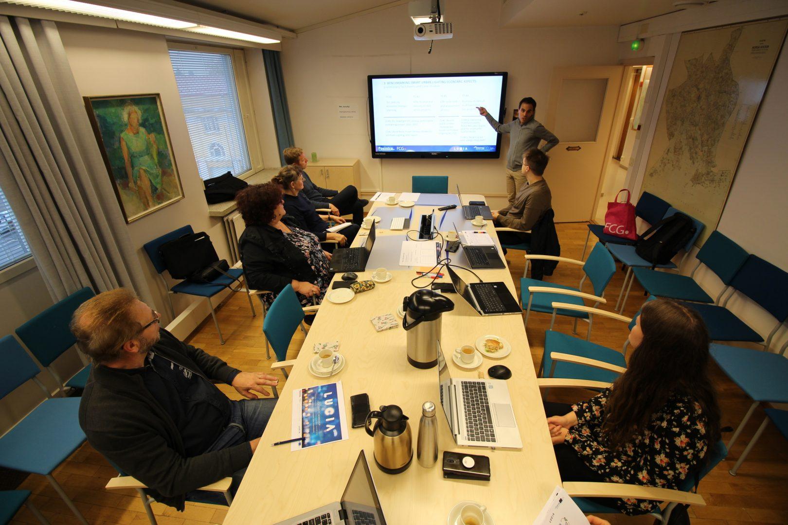 LUCIA local economic expert workshop in Porvoo, Finland on 1 October 2019