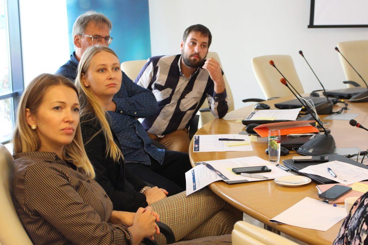 Participants Of LUCIA's Local Economic Expert Workshop In Jurmala, Latvia