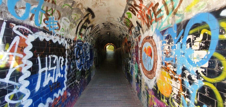 Tunnel At LUCIA Pilot Site Area In Hamburg