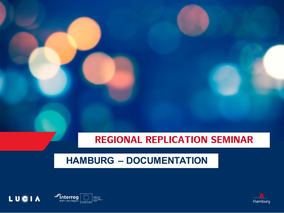 Header Picture For Documentation Of Hamburg's Regional Replication Seminars